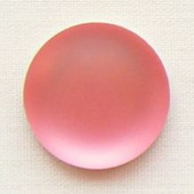 24mm Round Lunasoft Cabochon Watermelon - 1